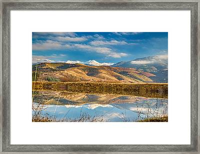 Morning In Pirin Mountain Framed Print