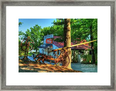 Morning In Rabbit Hash Framed Print by Mel Steinhauer