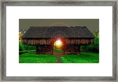 Morning In The Cove Framed Print