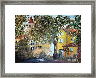 Morning In The Old Country Framed Print