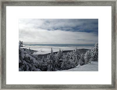 Morning In Vermont Framed Print