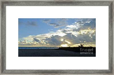 Morning Inspriation Series Framed Print