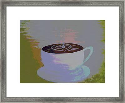 Morning Jo Framed Print by Erica  Darknell