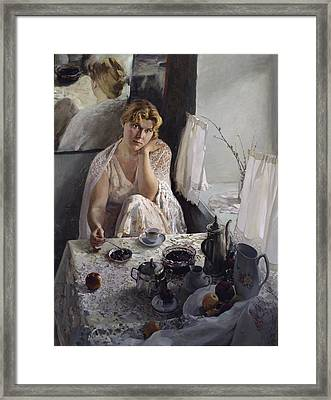 Morning Framed Print by Korobkin Anatoly