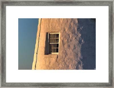 Morning Light At Pemaquid Framed Print