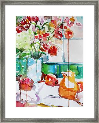 Morning Light Framed Print by Becky Kim