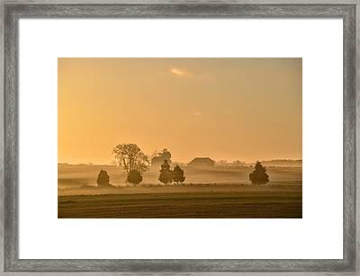 Morning Light Framed Print by Bill Cannon