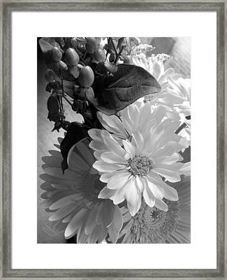 'morning Light Bouquet' Framed Print