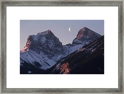 Morning Light Canmore Framed Print by Richard Berry