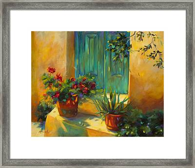 Morning Light Framed Print by Chris Brandley