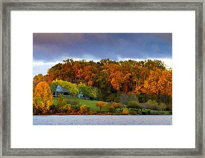 Morning Light Framed Print by Edward Kreis