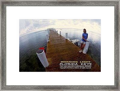 Morning Light Florida Keys Framed Print by Michael Moore
