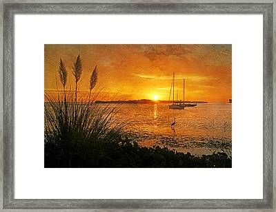 Morning Light - Florida Sunrise Framed Print by HH Photography of Florida