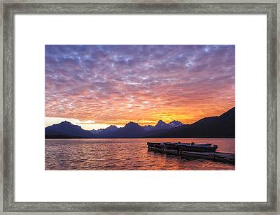 Morning Light Framed Print by Jon Glaser