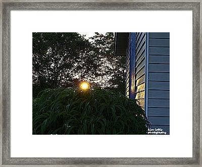Morning Light  Framed Print by Kim Loftis