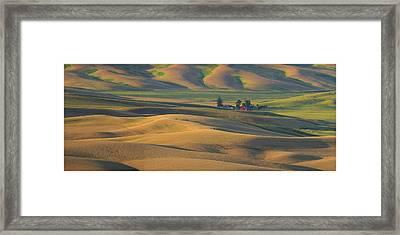 Morning Light Framed Print by Latah Trail Foundation
