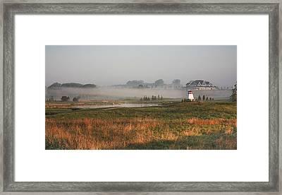 Morning Light Over Ariss Framed Print