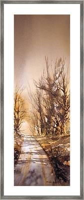 Morning Light Framed Print by Roland Byrne