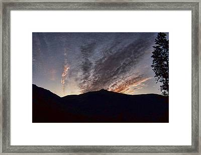 Morning Light Framed Print by Ron Roberts