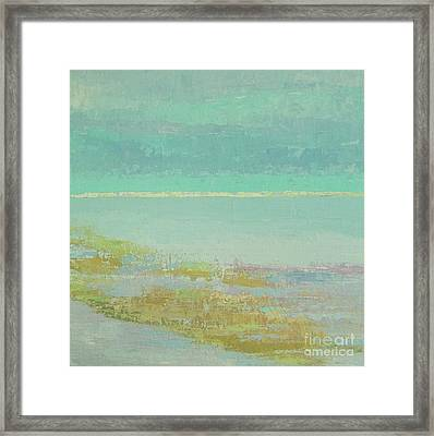 Morning Low Tide Framed Print by Gail Kent