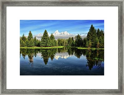 Morning Magic At Schwabacher Framed Print by Jeff R Clow