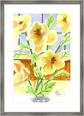 Morning Magnolias 2 Framed Print by Kip DeVore