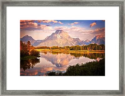 Morning Majesty Framed Print by Marty Koch