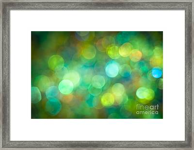 Morning Meadow Framed Print