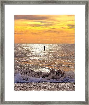 Sunrise Solitude Framed Print