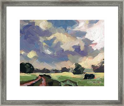 Morning Melody Framed Print