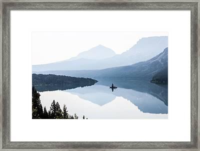 Morning Mist Framed Print by Aaron Aldrich