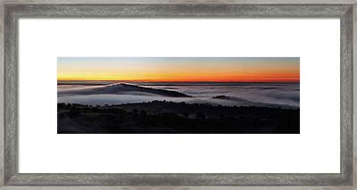 Morning Mist Framed Print by Babak Tafreshi