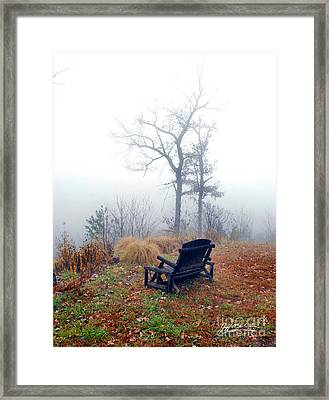 Morning Mist IIi Framed Print