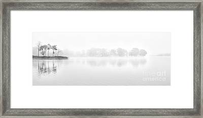 Morning Mist Framed Print by Janet Burdon