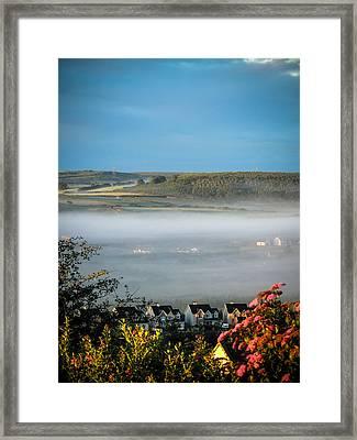 Morning Mist Over Lissycasey Framed Print