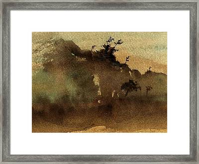 Morning Mist Framed Print by Richard Hinger