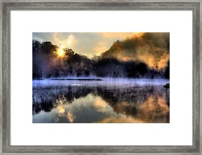 Morning Mist Framed Print by Steve Parr