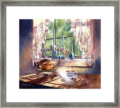 Morning Moment Framed Print