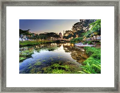 Morning Mosque Framed Print by Mario Legaspi