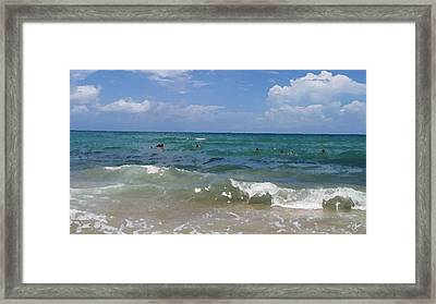 Morning On Boynton Beach 3 Framed Print by Shawn Lyte