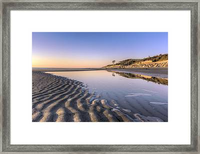 Morning On Jekyll Island Framed Print