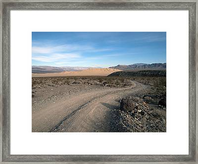 Morning On Steele Pass Framed Print