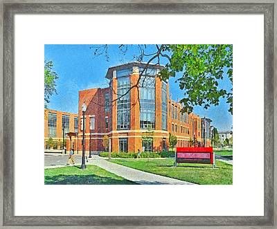 Student Union. The Ohio State University Framed Print