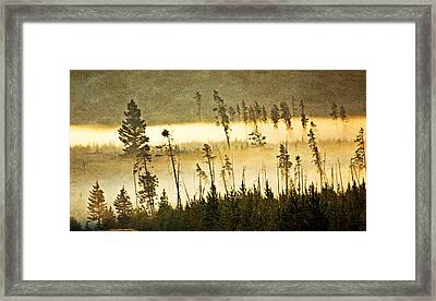 Morning On The Madison Framed Print by Marty Koch
