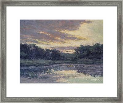 Morning On The Marsh / Wellfleet Framed Print by Gregory Arnett