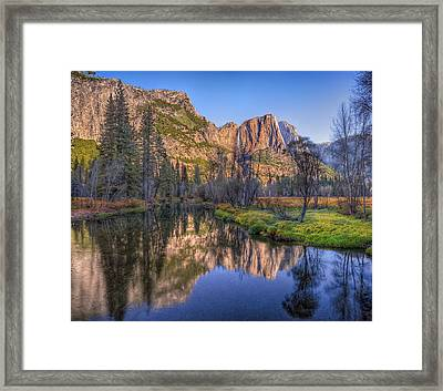 Morning On The Merced Framed Print