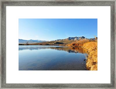 Morning On The Missouri Framed Print by Birches Photography