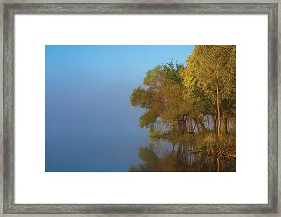 Morning On The Saganashkee Framed Print