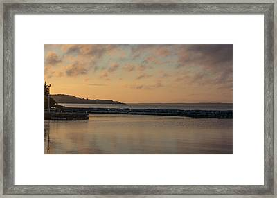 Morning Over Lake Simcoe Framed Print