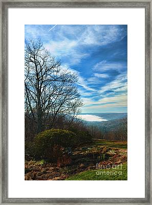 Morning Over The Barkhamsted Framed Print by HD Connelly
